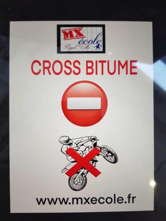 cross bitume interdit
